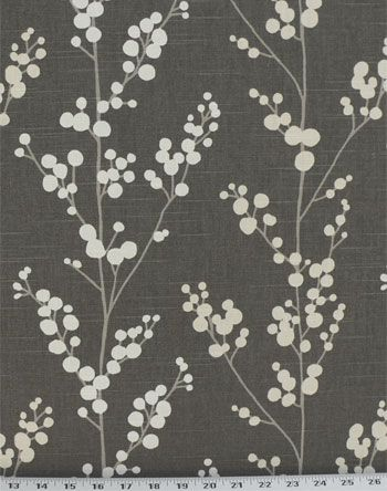 Evelynne Graphite | Online Discount Drapery Fabrics and Upholstery Fabric Superstore!