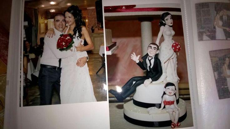 Decorazione di zucchero  (22 Agosto 2015) ...Dall'album foto matrimonio di Veronica e Walter