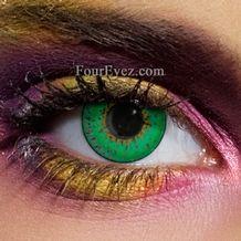 3 Tone Green Colour Contact Lenses (Pair)
