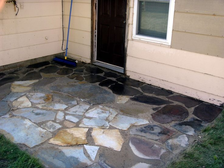 How To Install Or Lay Flagstone Pavers   Building A Flagstone Patio