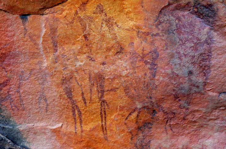 SWAKOPMUND MUSEUM: The White Lady  is a rock painting, located on a panel, also depicting other art work, on a rock overhang, deep within Brandberg Mountain. The giant granite monolith located in Damaraland and called ´The Brandberg´ is Namibia´s highest mountain. The painting has long been an archaeological dilemma and several different hypotheses have been put forth on its origins, authorship and dating. It is now usually accepted to be a bushmen painting, dating back at least 2000 years…