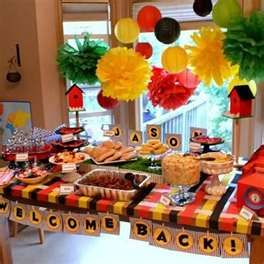Welcome Home Soldier {Party Food Ideas} – Tip Junkie Party Ideas    ^ Much needed for the welcome home party I'm throwing.