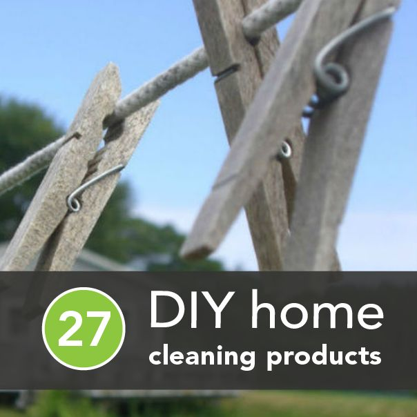 27 Chemical-Free Products for DIY Spring Cleaning | Greatist #eco-friendly #cleaning