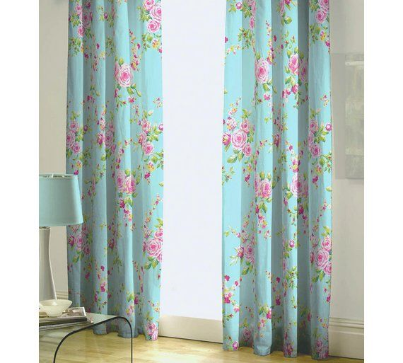 Buy Canterbury Curtains -165cmx180cm - Multicoloured at Argos.co.uk, visit Argos.co.uk to shop online for Curtains, Blinds, curtains and accessories, Home furnishings, Home and garden