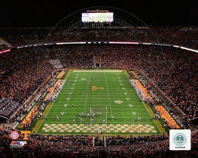 Neyland Stadium Univserity of Tennessee Volunteers 2013