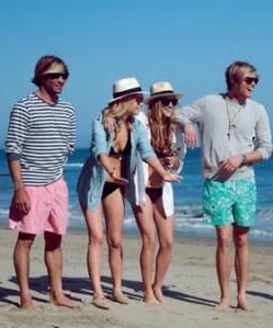 #preppy beach style