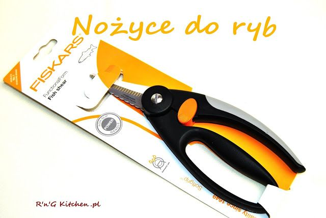 R'n'G Kitchen: Nożyce do ryb od Fiskars