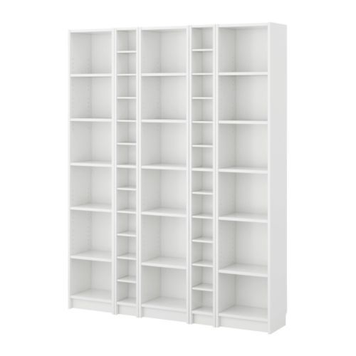 every other shelf is adjustable and could be used as mudroom furniture with shoe storage. Thanks IKEA!