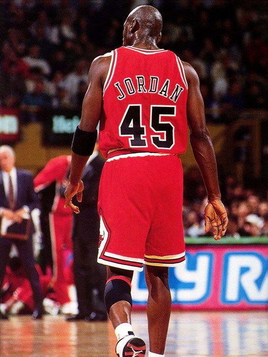 quality design 65a86 c6d84 Michael Jordan 45 Jersey Rare Chicago Bulls NBA Basketball ...