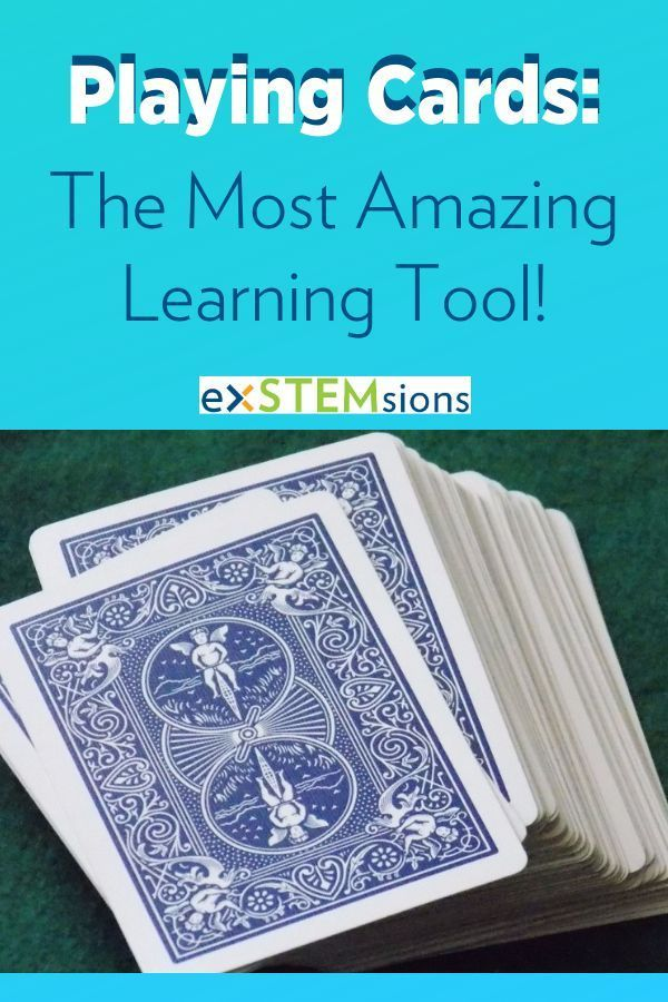 Playing Cards The Most Amazing Learning Tool Learning Tools
