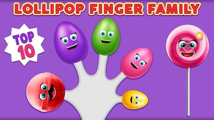 Lollipop Finger Family Song Collection | Top 10 Finger Family Song | Nur...