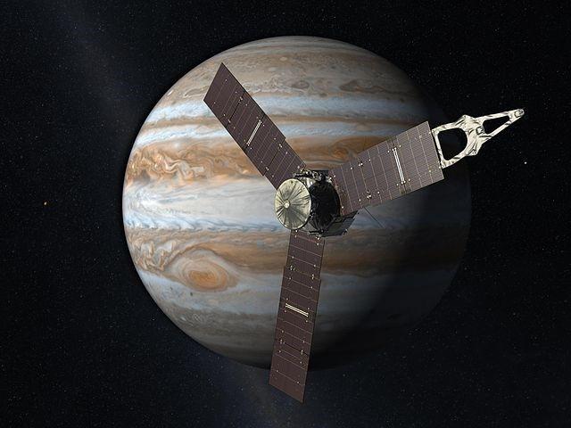 Confira o ruído produzido pela magnetosfera de Júpiter