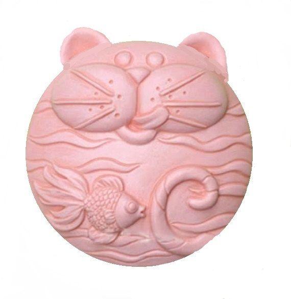 3 Fat Cats Soaps Decorative Cat Soap Organic by TheGodsNectar