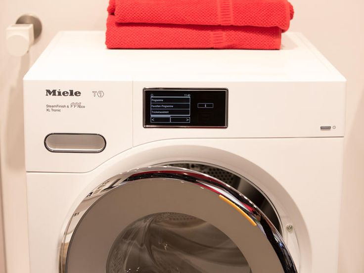 At IFA 2014 Miele reveals it is going to add connectivity to a line of washers and dryers.