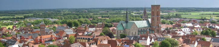Ribe is a charming town on Jutland in the south west of Denmark, close to the Wadden Sea. Dating back to the 8th century, the age of Vikings, it is the oldest town in Denmark.
