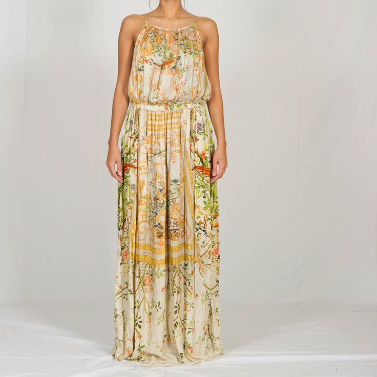 Roberto Cavalli floreal printed dress so fabulous for summer nights
