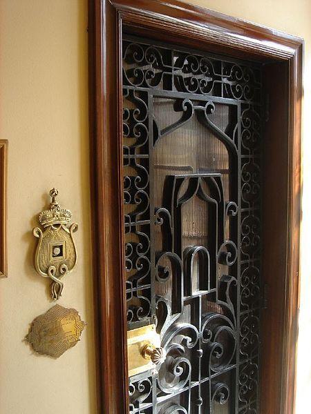 Elevator Door | El Salamlek Palace Hotel, Israel