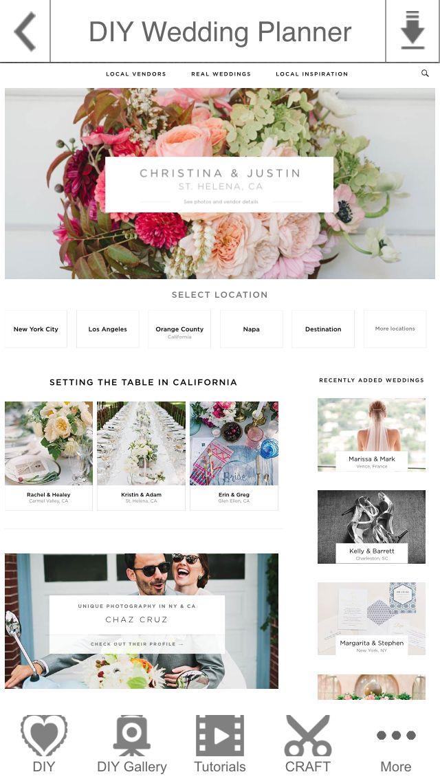 planner approved wedding planning apps pinterest facebook