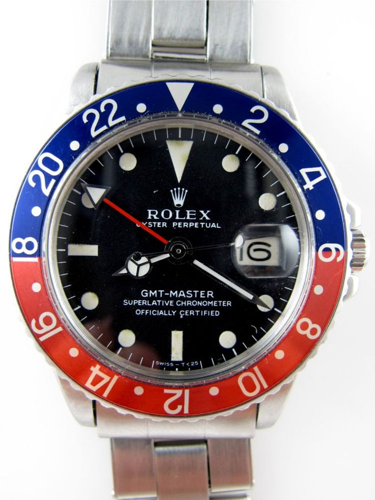Rolex Submariner Red Blue