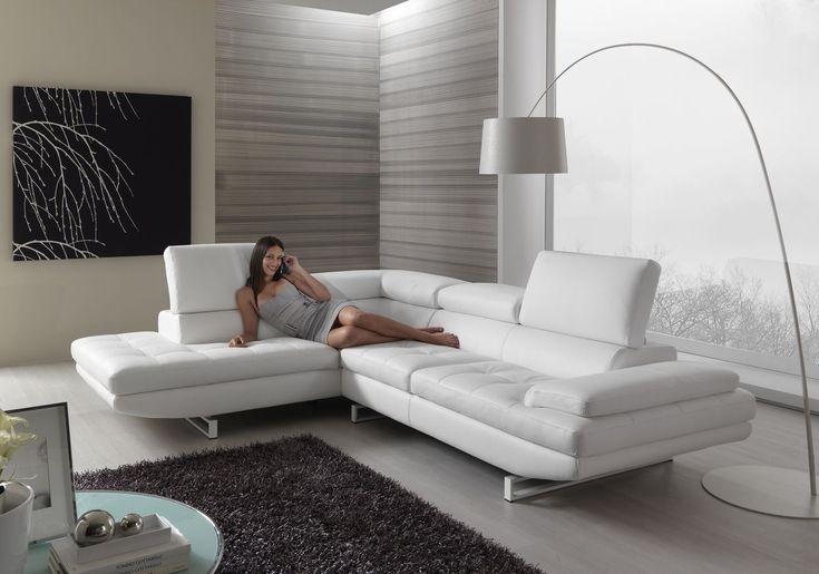sofá moderno rinconero reclinable  HABART Max Divani