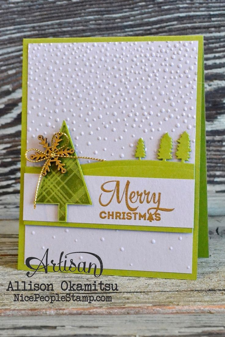 nice people STAMP!: Lots of Joy Christmas Card & Tag