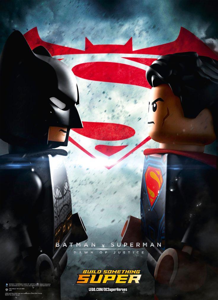 Batman and Superman Go LEGO in New Movie Poster - Comic Vine