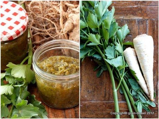 grain de sel - salzkorn: Gemüsebrühe oder Gewürzpaste - so oder so