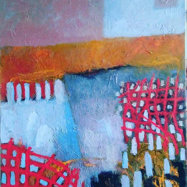 #australianart #lornestudio #abstract 115cmx120cm#Qdos#canvas#expressionist #gallery