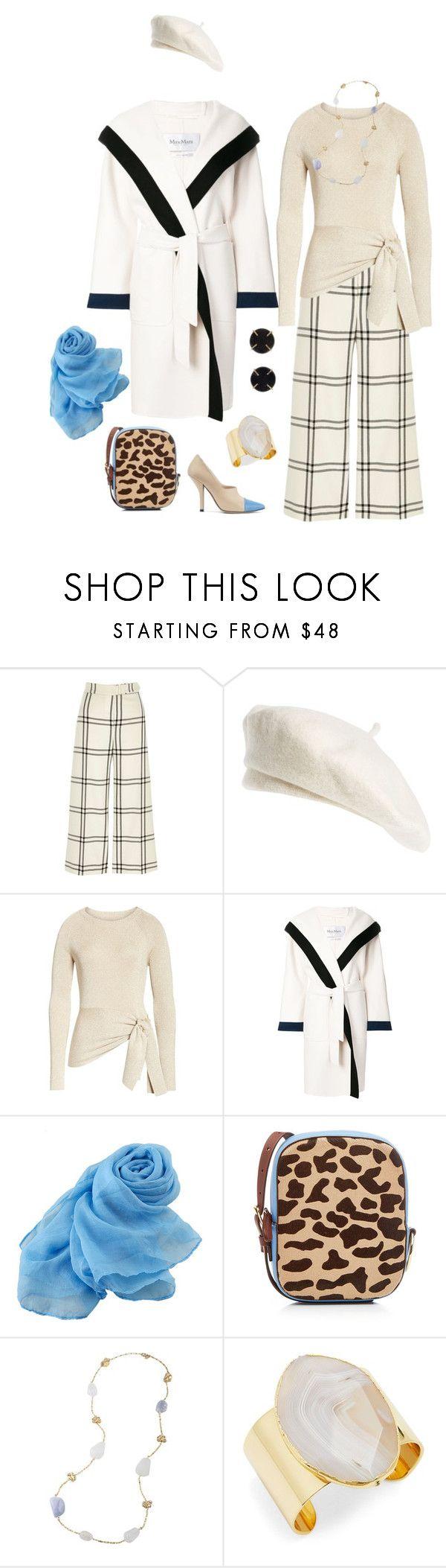 """Untitled #1780"" by clothes-wise ❤ liked on Polyvore featuring River Island, Brixton, 3.1 Phillip Lim, MaxMara, Fendi, Diane Von Furstenberg, Carolee and Melissa Joy Manning"