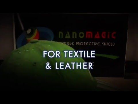 Nano Coating for Textile Protection - YouTube