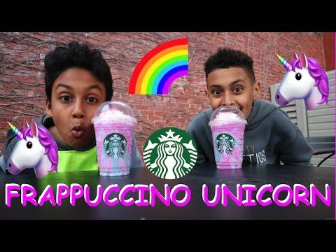 🌈STARBUCKS UNICORN FRAPPUCCINO 🦄Taste Test! Hey guys today we gonna try the famous Unicorn Frappuccino, Starbucks Unicorn Frappuccino. Follow us on Instagram : @Superbrosandtoys Twitter : @Superbrostoys This is where Emir and Adams join forces to challenge each other in countless fun videos! Challenges, Review, vlog and more!!! Be sure to SUBSCRIBE and we want to see you in the next video!!!😀
