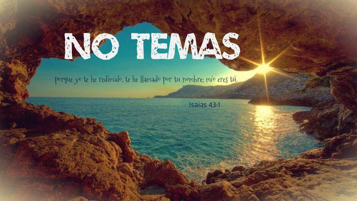 No temas, porque yo te he redimido, te he llamado por tu nombre; mío eres tú. Isaias 43:1 El favor y la buena voluntad de Dios hacia su pueblo hablan abundante consuelo a todos los creyentes. La nueva criatura, doquiera esté, es hechura de Dios. A todos los redimidos con la sangre de su Hijo, los ha apartado para sí.