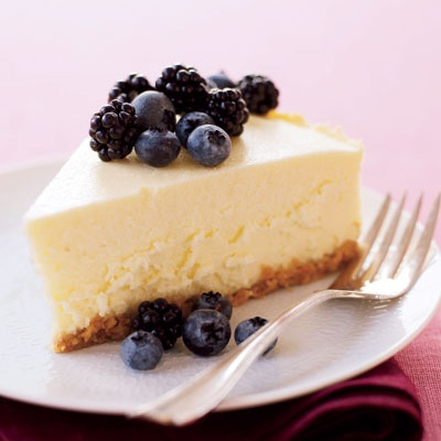 Lightened Up New York Cheesecake. There's nothing quite like sweet, creamy, and