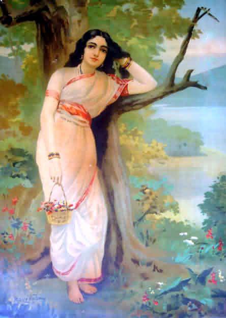 Ahalya - Raja Ravi Varma