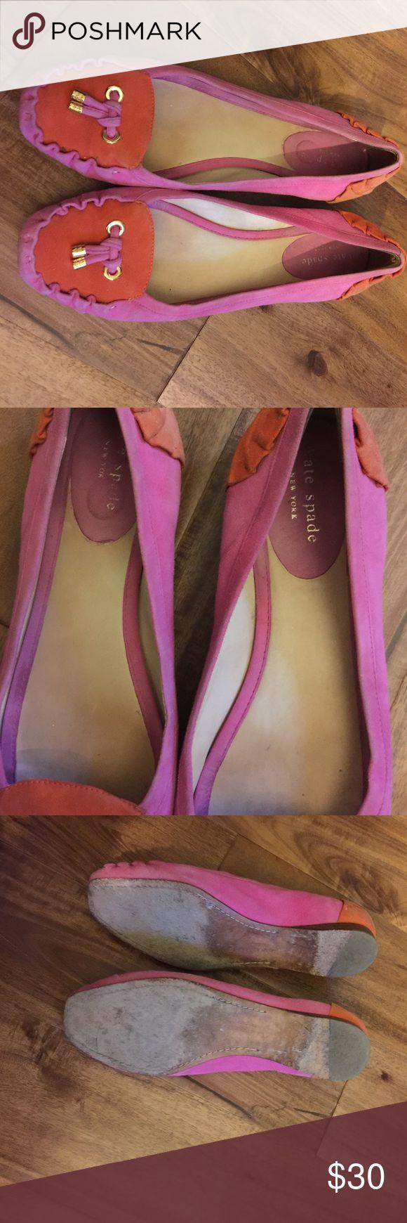 Kade spade pink and orange flats Kate spade pink and orange flats kate spade Shoes Flats & Loafers