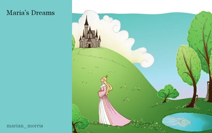 All little girls dream about becoming princesses. In this story Maria does become a princess. Read about her exciting life and find out what happens to her.