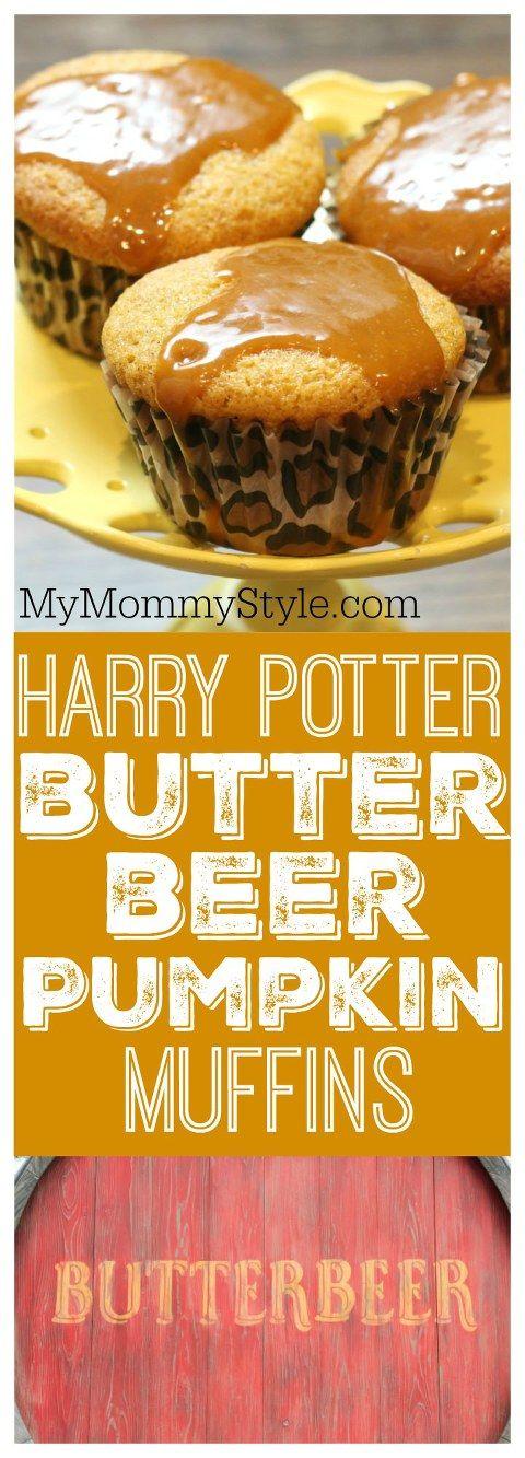 Harry Potter Butterbeer Pumpkin Muffins