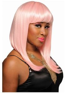 Pink Nicki Minaj Pop Star  Wig