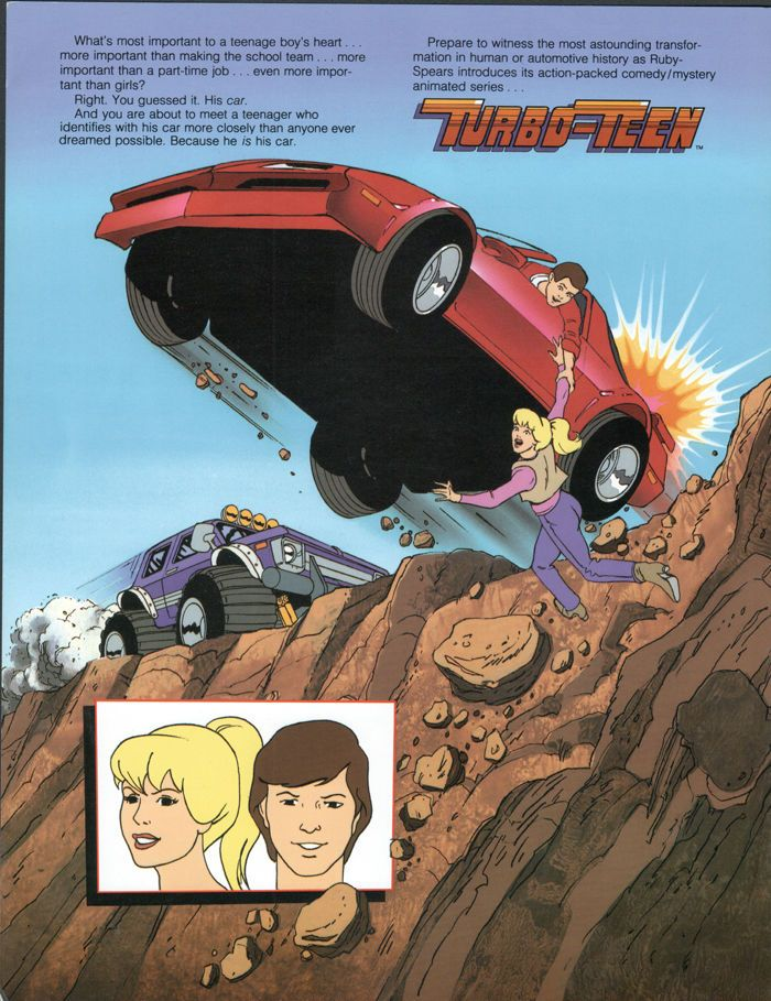 Turbo Teen Dvd 64