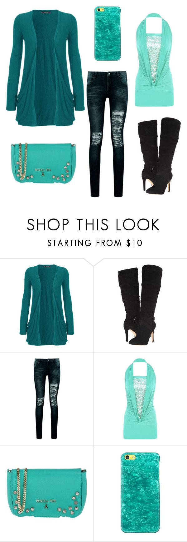 """""""Untitled #279"""" by erinn-hutchins ❤ liked on Polyvore featuring WearAll, GUESS, Boohoo, Patrizia Pepe and Casetify"""