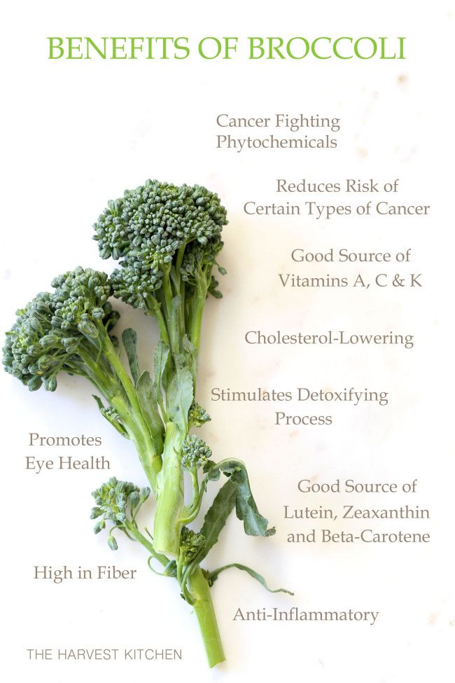from The Harvest Kitchen / Broccoli has potent anti-inflammatory, anti-cancer and antioxidant benefits, and it contains nutrients that offer detox-support along with many other important nutrients that promote good health.. @theharvestkitchen.com