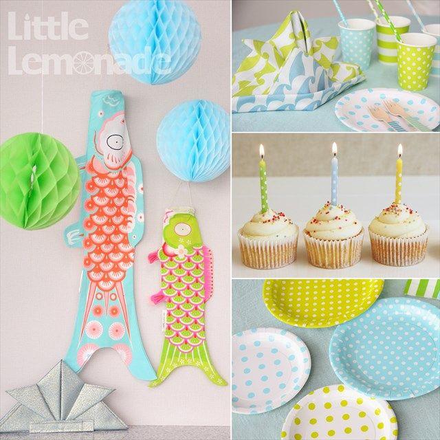 子供の日・節句パーティー スタイリング Designed by Little Lemonade