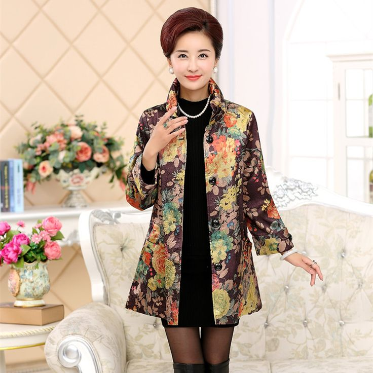 >> Click to Buy << 2016 New Summer middle age clothing 2016 New Fashion Spring middle-aged women coat coats  PZ25060-3068 #Affiliate