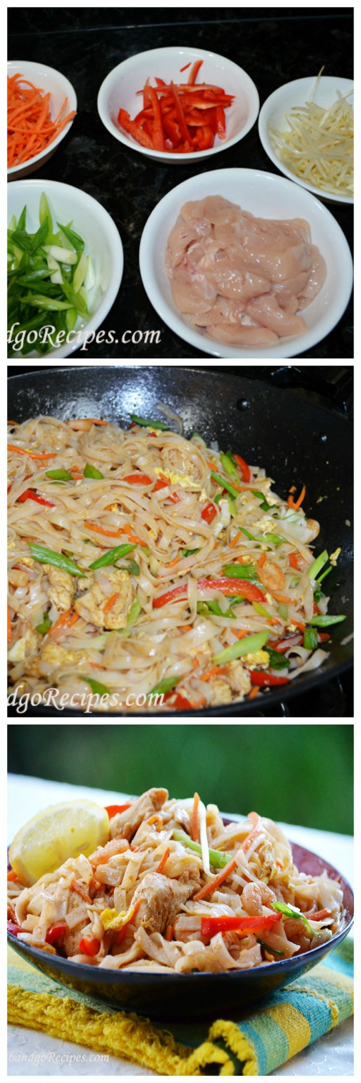 Easy to make Pad Thai- DELISH!!!