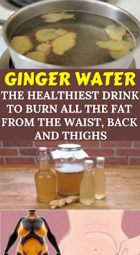Ginger Water: the Healthiest Drink to Burn All the Fat from the Waist, Back and Thighs – kinga limowski