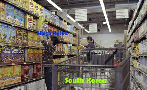 Funny Gif: Don't Tread On South Korea