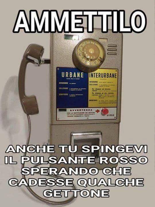 Il telefono della mia infanzia...indimenticabile