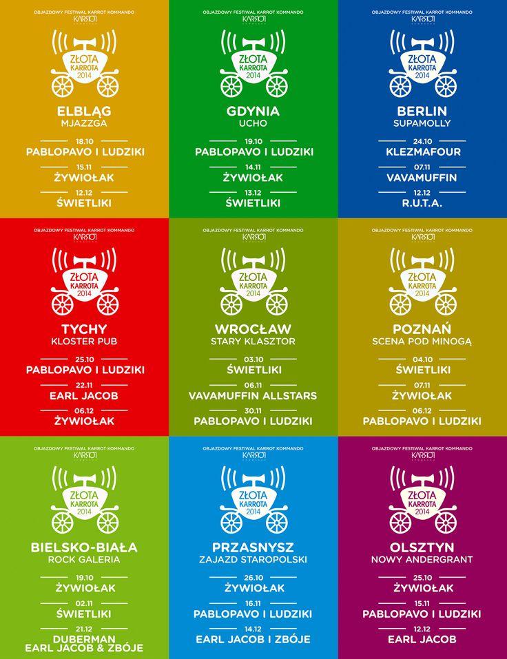 Złota Karrota 2014 - Posters