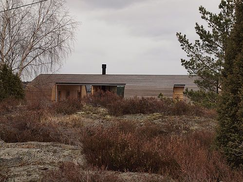 Weekend house Grøgaard/Slaattelid in Kragerø. Architect: Knut Hjeltnes Arkitekter.