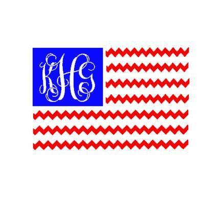 American Flag Craft Vinyl